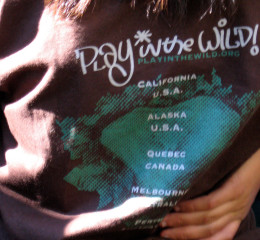 Play in the Wild! tshirt - 2008