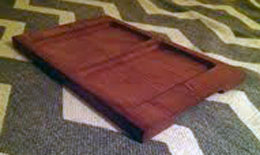 Handcrafted Redwood Tray
